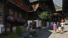 The woodcarving village of Brienz